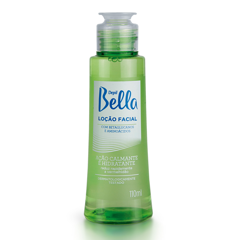 Kit c/ 3 Loção Facial Calmante  Depil Bella  110ml