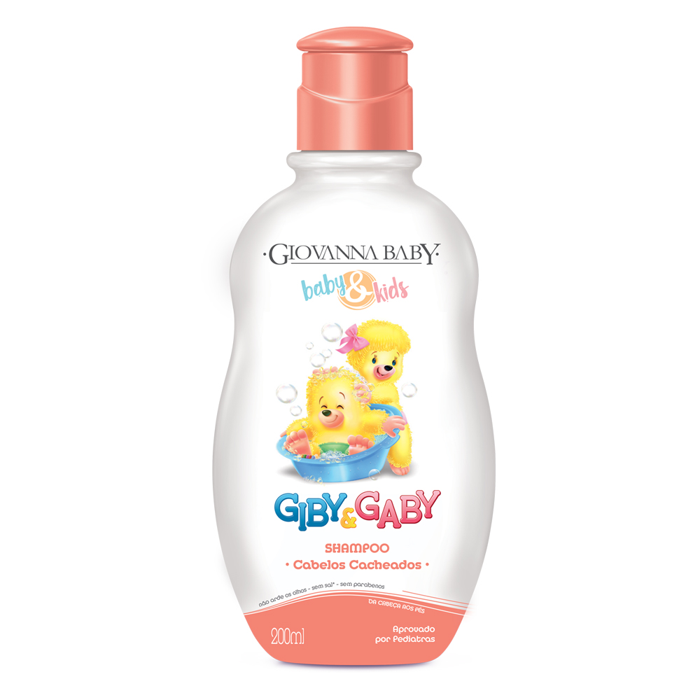 Kit c/ 3 Shampoo Giby Giovanna Baby 200 ml