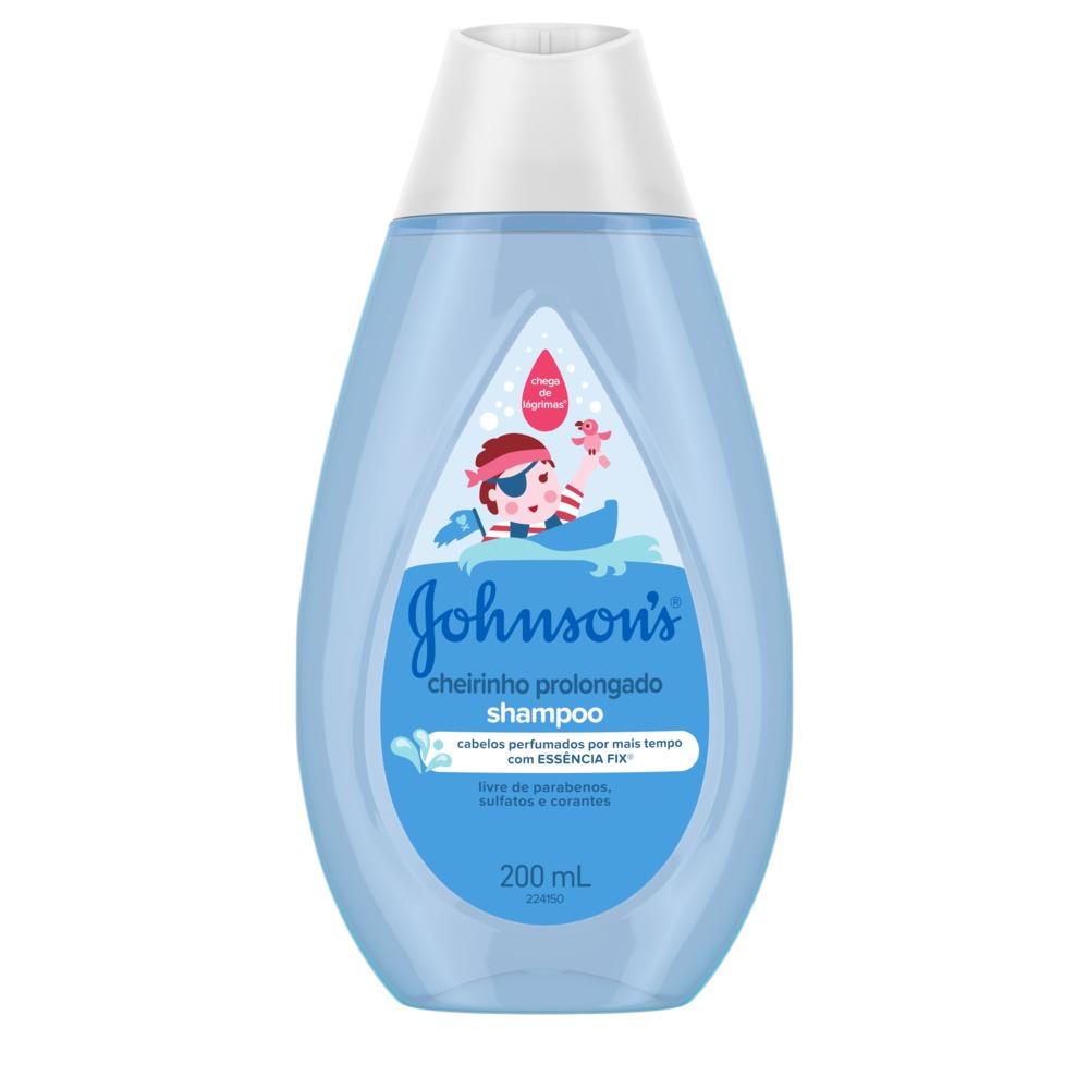 Kit c/ 4 Shampoo JOHNSON'S Baby Cheirinho Prolongado 200ml