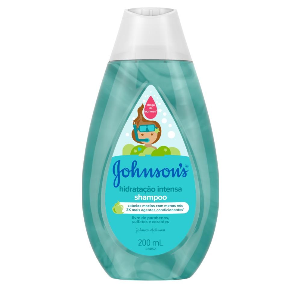 Kit c/ 4 Shampoo JOHNSON'S Baby Hidratação Intensa 200ml