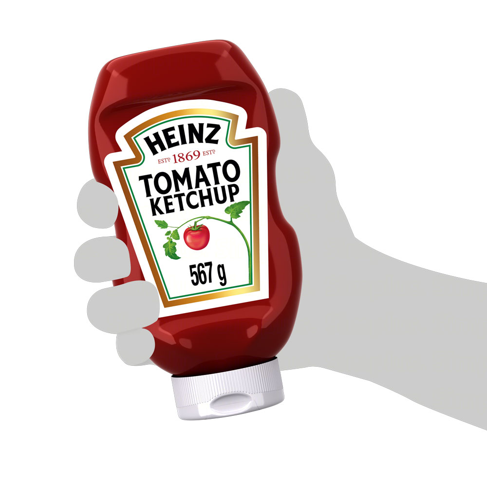 Kit c/ 6 Ketchup Heinz 567g