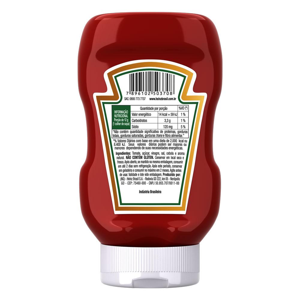 Kit c/ 6 Ketchup Heinz Tradicional 397g