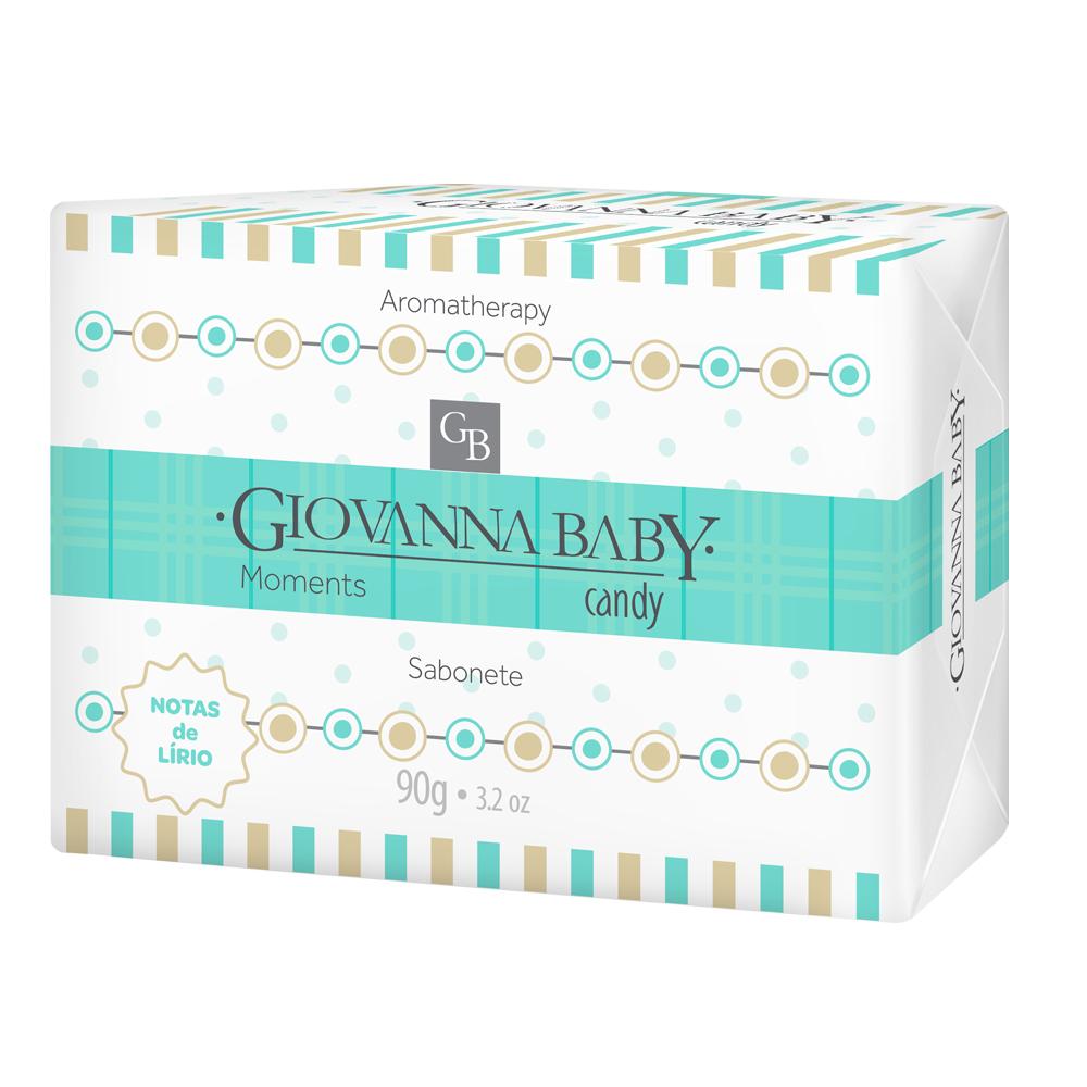 Kit c/ 6 Sabonete Giovanna Baby Moments Candy 90g
