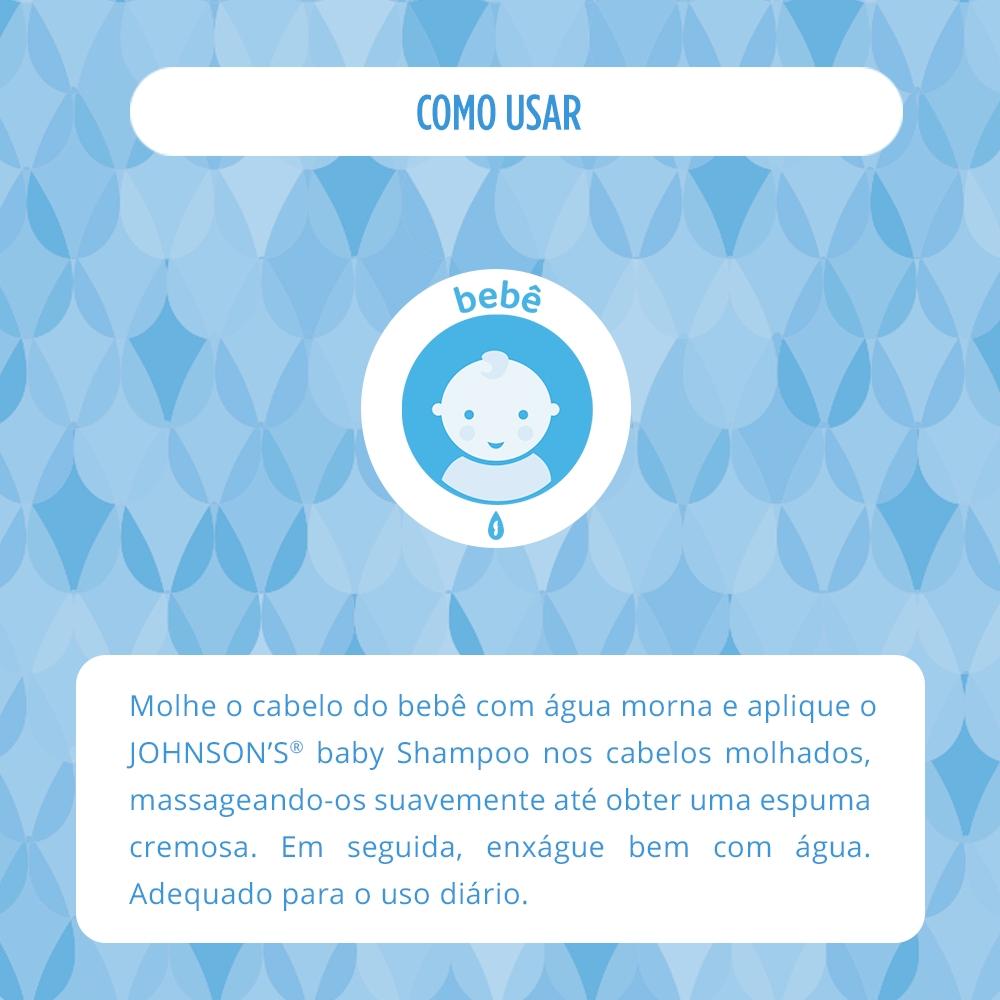 Kit Johnson's Baby Regular c/ Shampoo 750ml e Condicionador 200ml