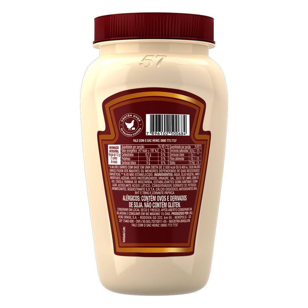 Maionese Heinz Receitas 405g