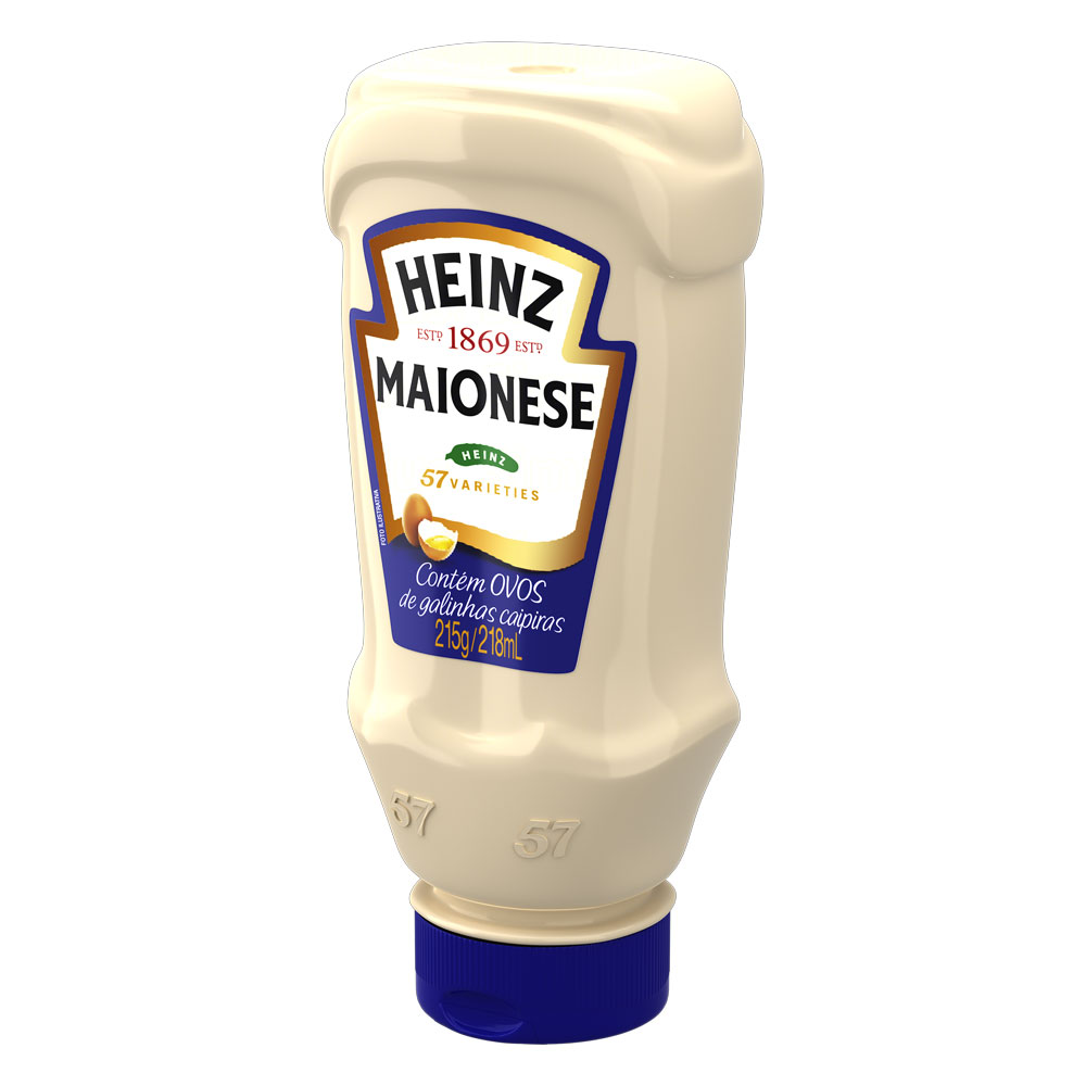 Maionese Heinz Tradicional 215g