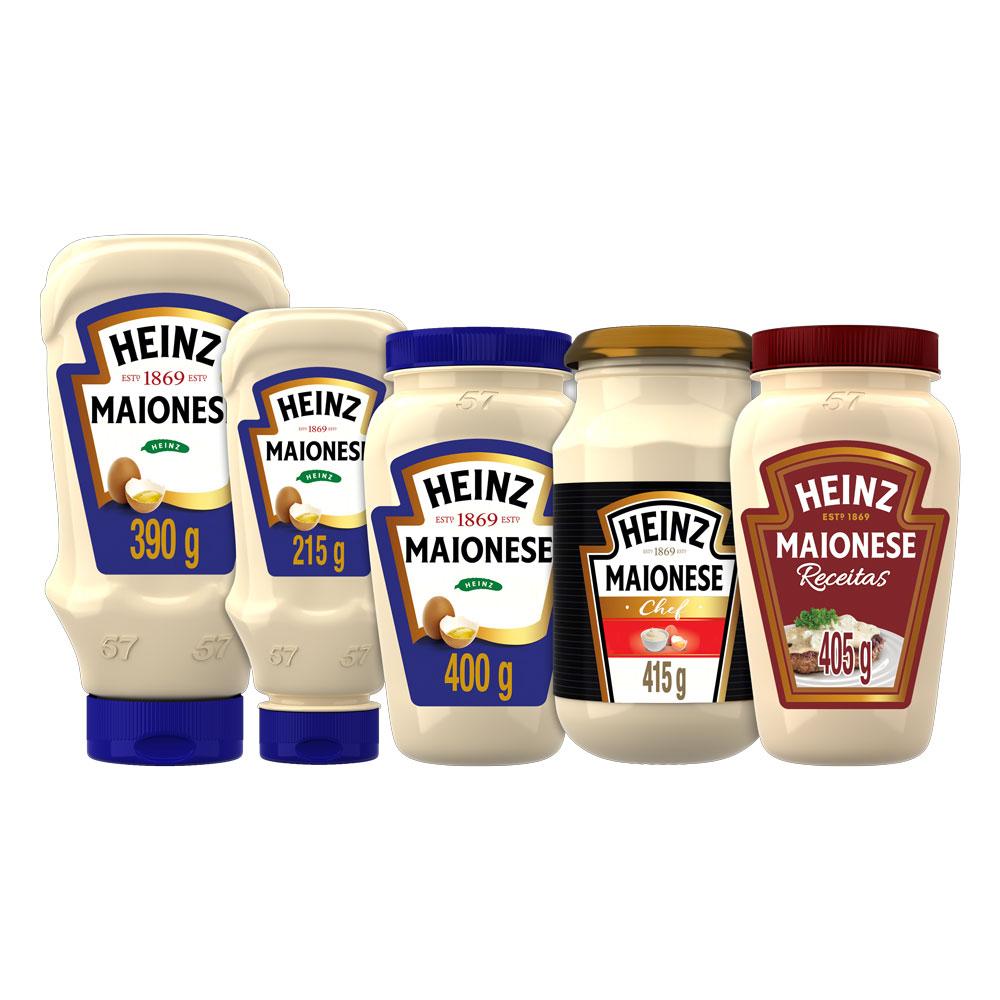 Maionese Heinz Tradicional 390g