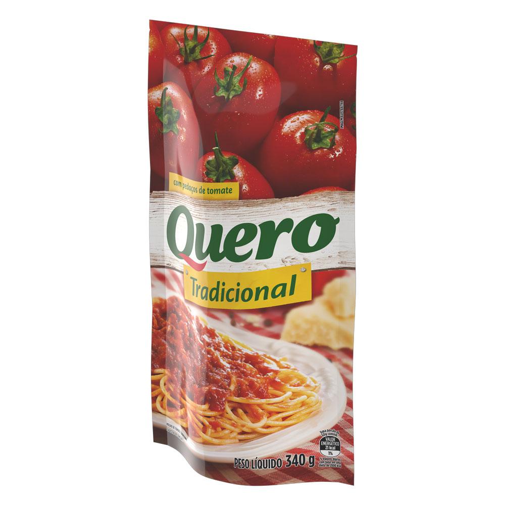 Molho De Tomate Quero Tradicional 340g