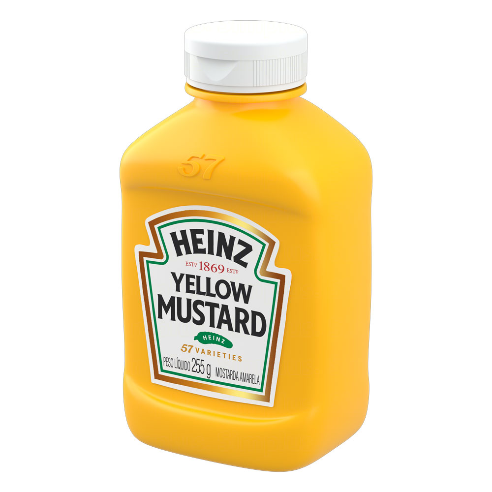 Mostarda Heinz Tradicional 255g
