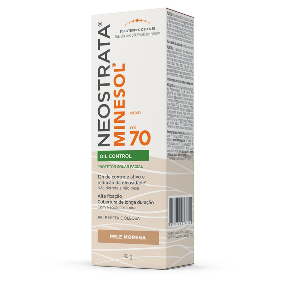 Neostrata Minesol Oil Control FPS 70 Pele Morena