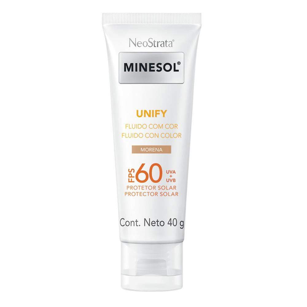 Neostrata Minesol Unify Fluido cor Pele Morena FPS60 40g