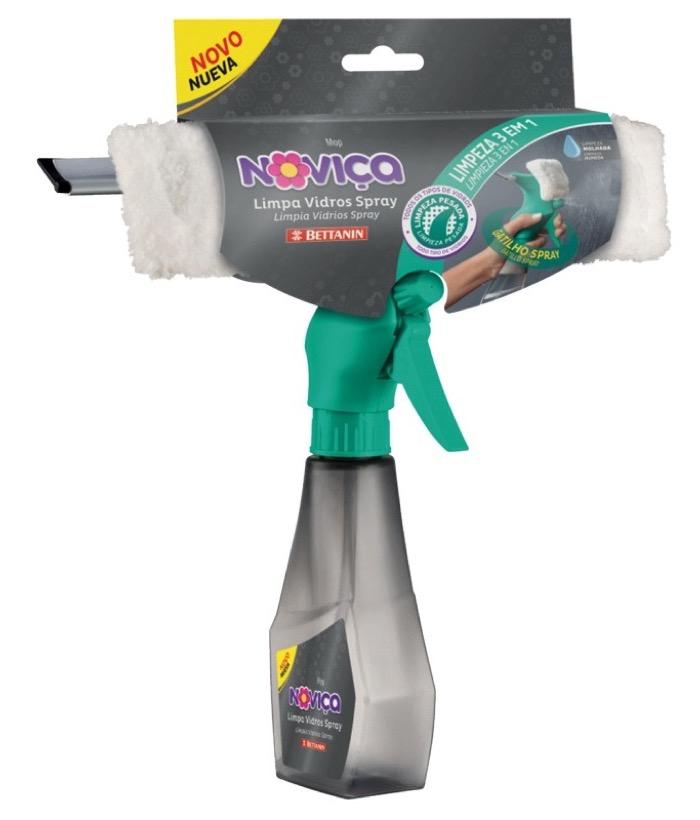 Noviça Limpa Vidros Spray Plástica