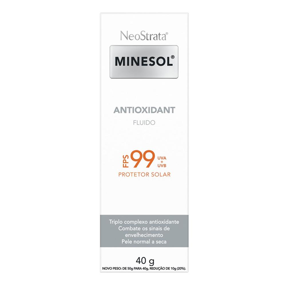 Protetor Solar Facial Neostrata Minesol Antioxidant FPS99 40g
