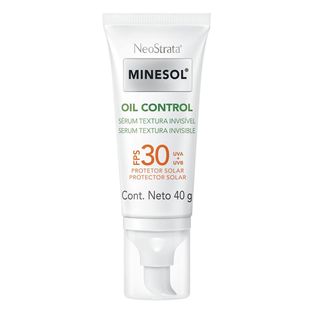 Protetor Solar Facial Neostrata Minesol Oil Control Sérum FPS 30 40g