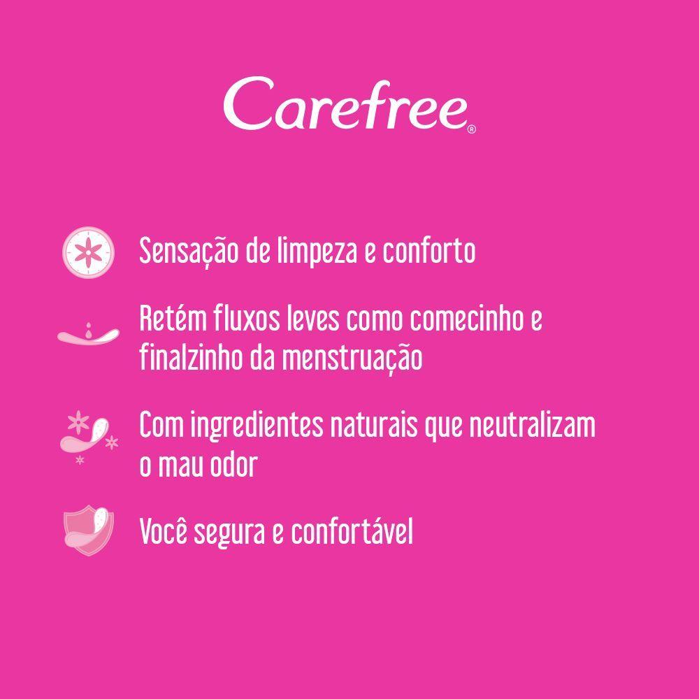 Protetores Diário CAREFREE Proteção c/ Perfume 80un
