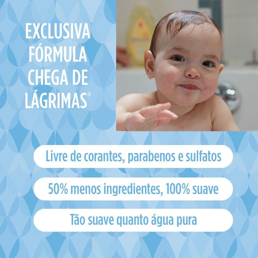 Sabonete Líquido de Glicerina JOHNSON'S Baby Da Cabeça aos Pés Refil 180 ml
