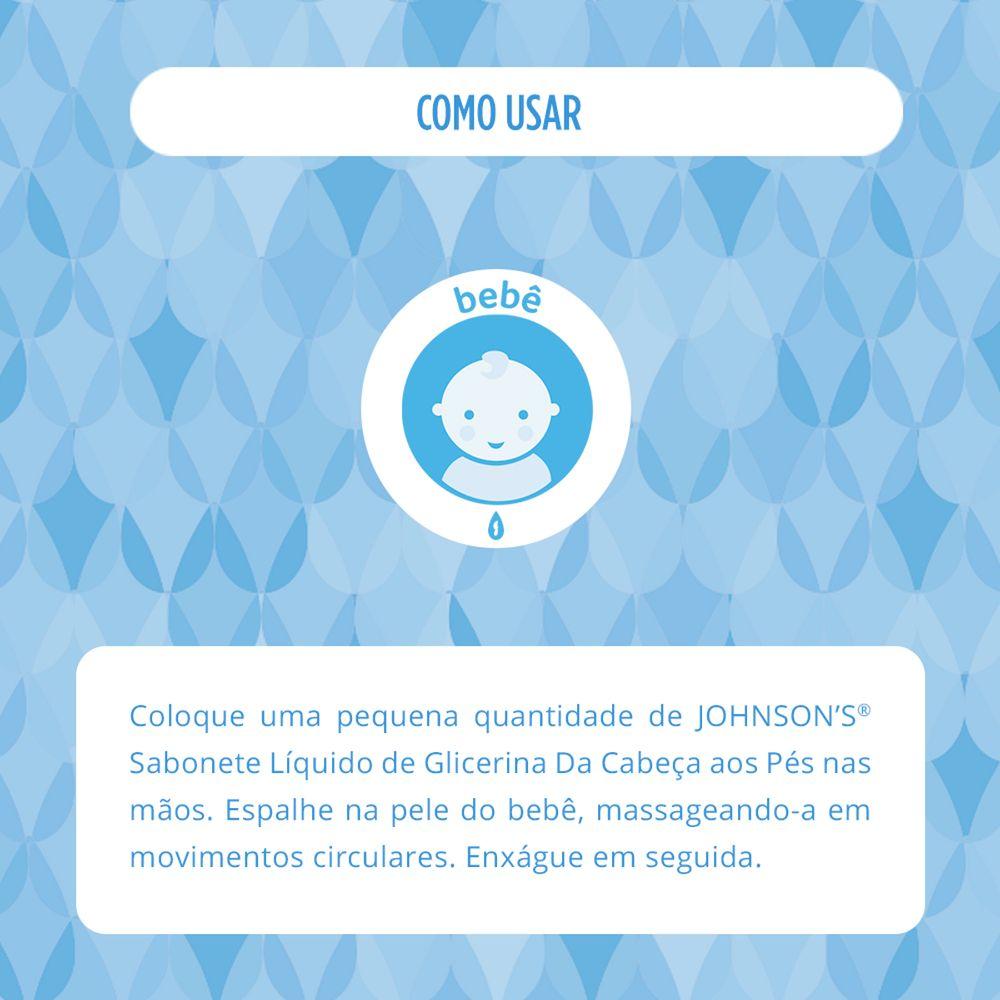 Sabonete Líquido JOHNSON'S Baby Cabeça aos Pés 400ml