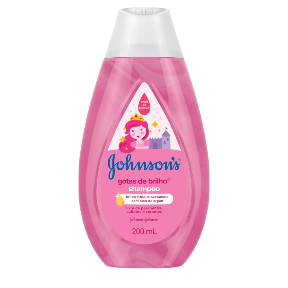 Shampoo JOHNSON'S Baby Gotas de Brilho 200ml