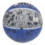 Bola De Basquete Spalding NBA Graffiti Azul - Borracha - Outdoor