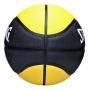 Bola De Basquete Spalding NBA MVP Amarela - Borracha - Outdoor