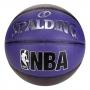 Bola De Basquete Spalding NBA Pearl Roxa - Microfibra - Indoor / Outdoor