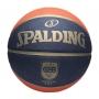 Bola De Basquete Spalding TF150 CBB Preta - Borracha - Indoor / Outdoor