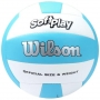 Bola de Vôlei Wilson Soft Play Bicolor - Azul