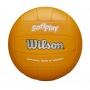 Bola de Vôlei Wilson Soft Play Colorida - Laranja