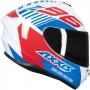 Capacete Axxis Draken Z96 Gloss - Vermelho/Azul