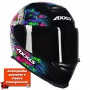 Capacete Axxis Eagle Skull Gloss - Azul