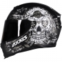 Capacete Axxis Eagle Skull Matte - Cinza