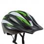Capacete Bike Poker Out Mold Windstorm C/ Led - Verde