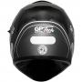 Capacete GP Tech V128 Faster Com Viseira Solar Matte - Cinza