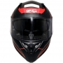 Capacete GP Tech V128 Faster Com Viseira Solar Matte - Vermelho