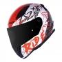 Capacete LS2 FF353 Rapid Naughty - Vermelho