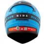 Capacete LS2 FF353 Rapid Thunder Matte - Azul/Laranja