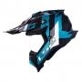 Capacete LS2 MX700 Subverter Evo Max - Azul