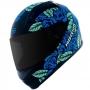 Capacete Norisk FF391 Bed Of Roses Matte - Azul
