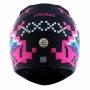 Capacete Norisk FF391 Stunt Pixel Matte - Preto/Rosa