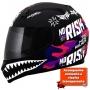 Capacete Norisk FF391 Stunt Ride Hard - Rosa