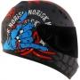 Capacete Norisk FF391 Stunt Zombie Matte - Azul