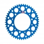 Coroa Renthal Alumínio YZ/WR 125/250/400/426/450F 99/21 - Azul