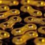 Corrente Renthal 428x130 R1 Works Chain - Dourado