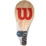 Kit Frescobol Wilson Logo W Com Capa Mesh