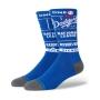 Meia Stance Cano Médio Dodgers Ticket Stub