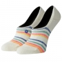 Meia Stance Feminina Invisible Butter Blend Candy Stripe