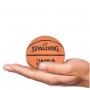 Mini Bola De Basquete Spalding NBA Spaldeen - Borracha - Laranja