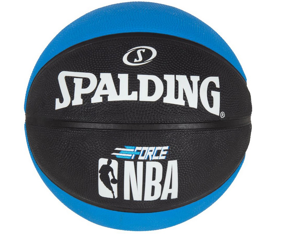 Bola De Basquete Spalding NBA Force Azul - Borracha - Outdoor
