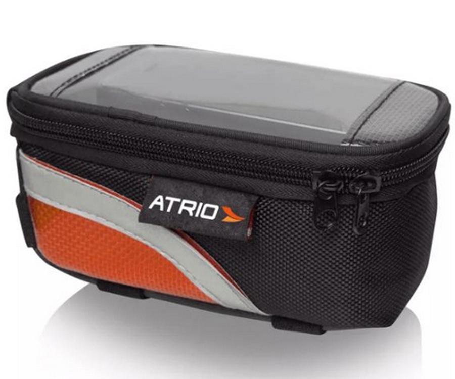 Bolsa com Porta Celular para Bike Atrio Impermeável 0,6L