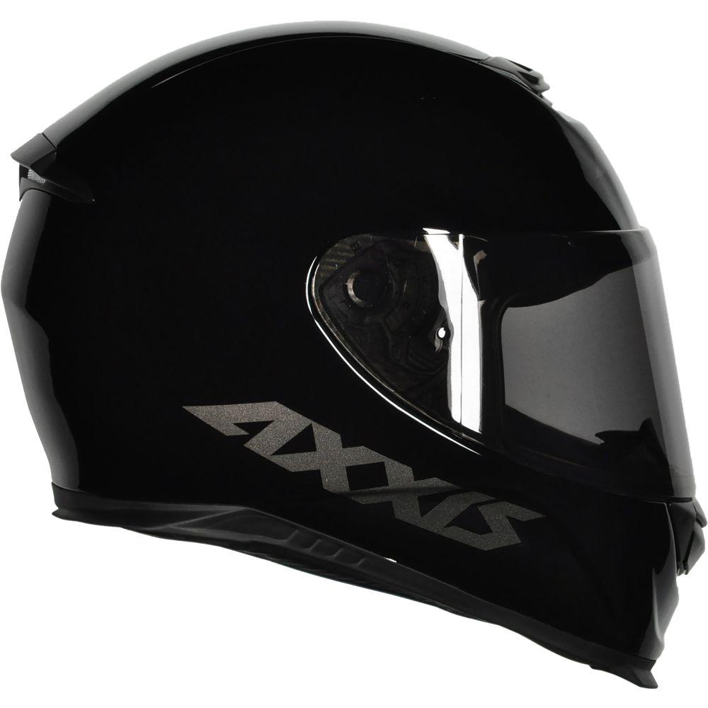 Capacete Axxis Eagle Solid Gloss Monocolor - Preto